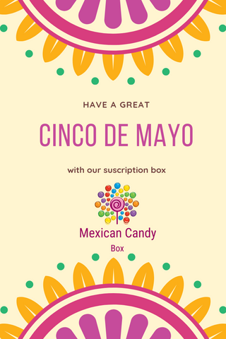 Cinco de Mayo Mexican Candy Box