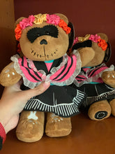 Load image into Gallery viewer, Catrina Teddy Bear Starbucks