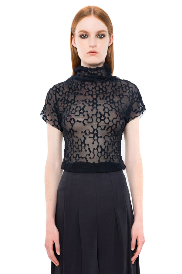 INK MOLECULAR LACE TEE