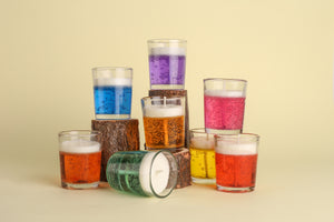 "2.5"" inch Gel Candles (Pack of 4)"