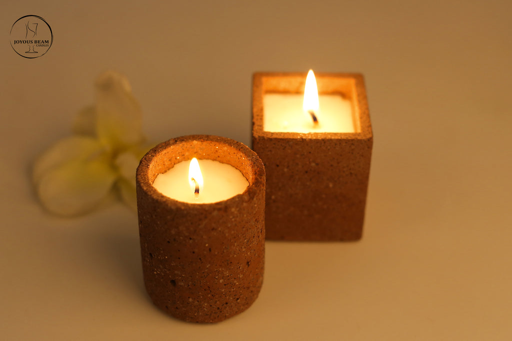 Coffee Concrete Candle (Set of 2)