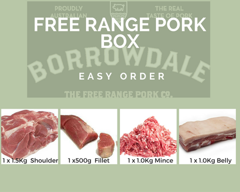 Borrowdale Free Range Pork Box
