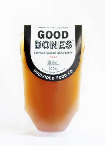 Good Bones - Certified Organic Beef Bone Broth ( 1 x 500ml)