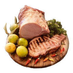 Fassifern Valley Foods - Hand Smoked Gluten Free Kassler (Bacon) Chops (2 x 250g approx.)