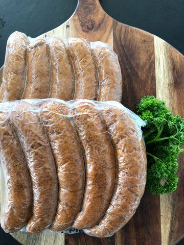 Fassifern Ham & Bacon Co. - Smoked Chilli Bratwurst - Gluten free