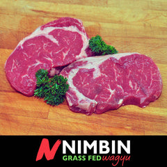 Nimbin Grass Fed Wagyu - Thick cut Rib Fillet/Scotch Fillet - (300g)