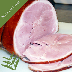 Nitrate Free Traditional - Wood Smoked - Half Boneless Leg Ham ( 1 x 3.0Kg approx)