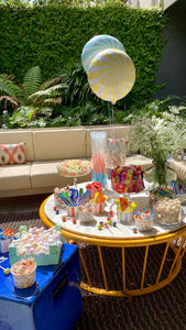 Candy bar jardín