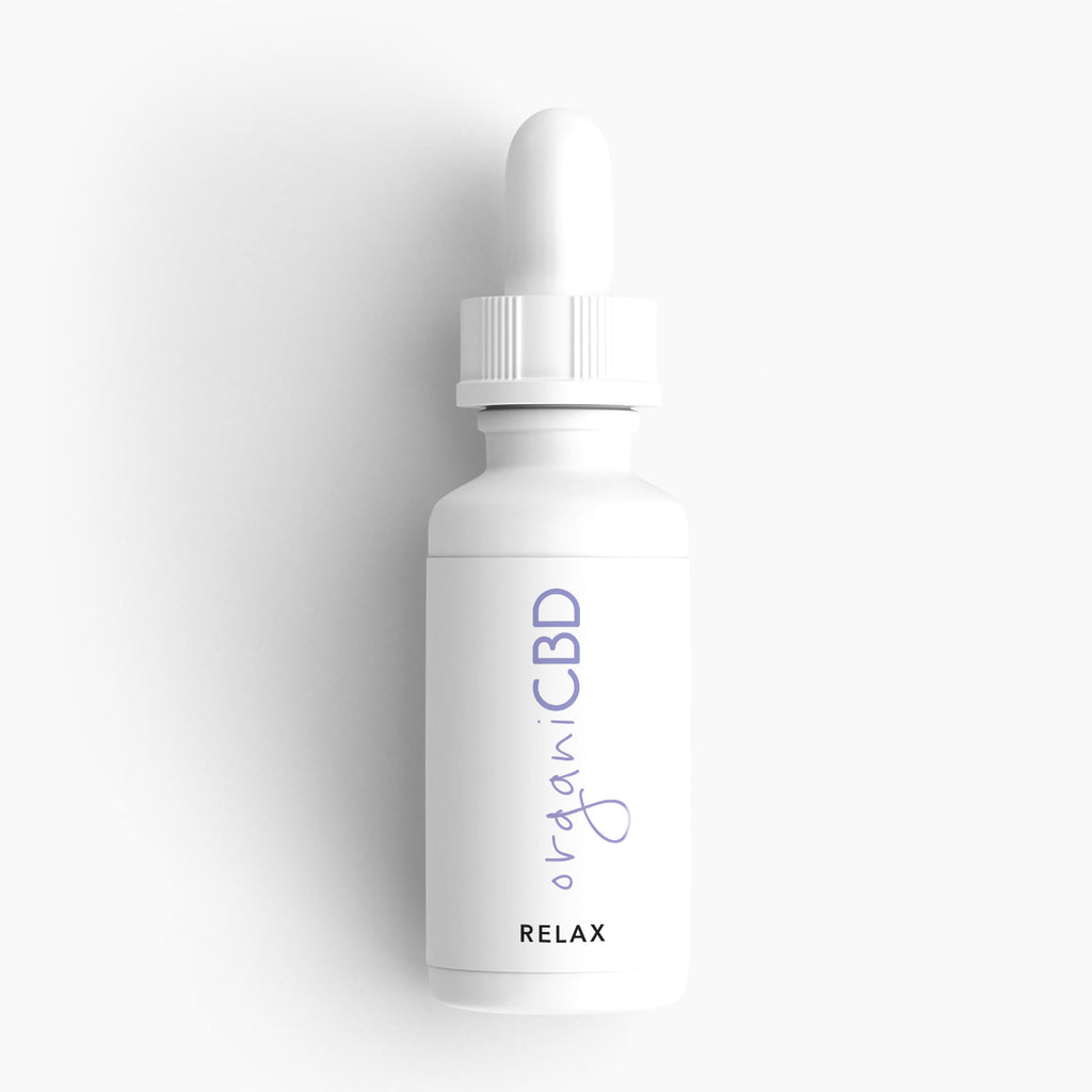 CBD Oil lavender flavored bottle