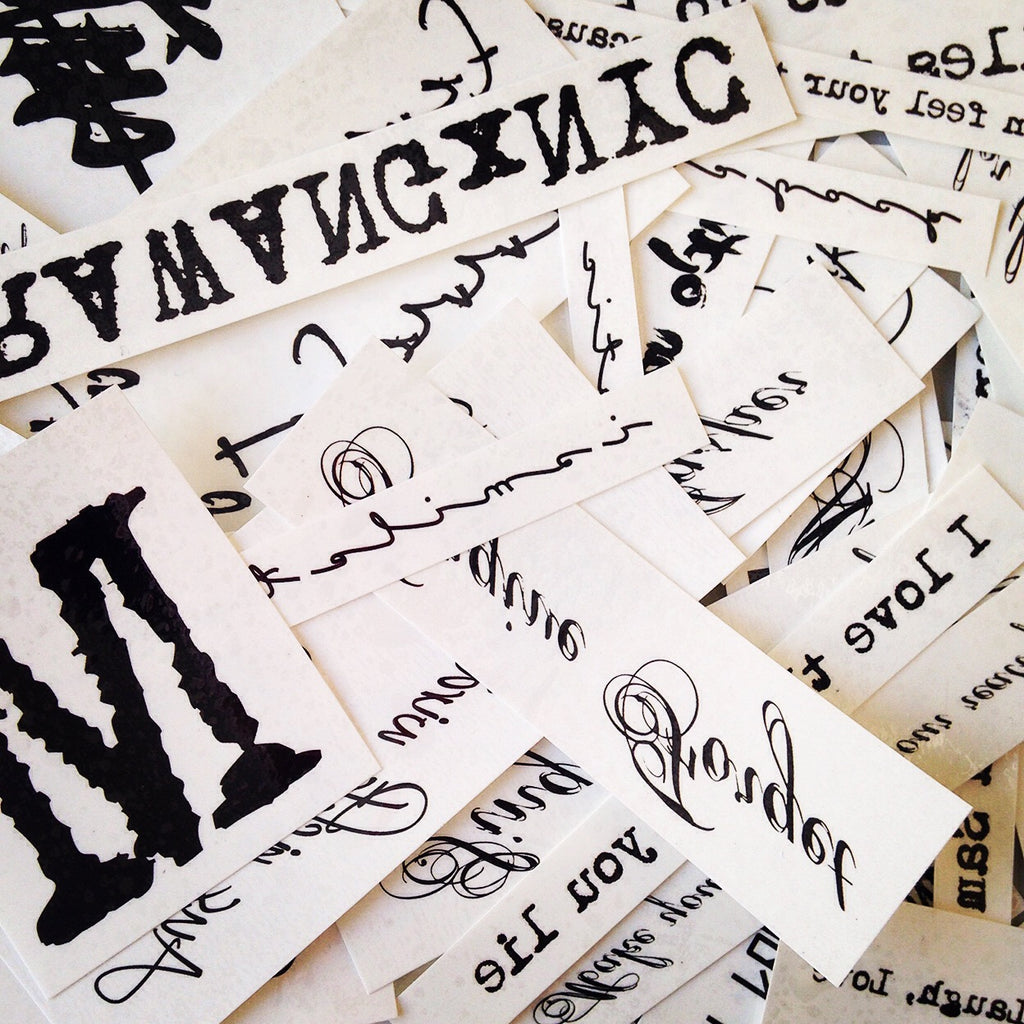 Custom Lettering washable Temporary Tattoo Sticker - custom english word multiple style tribal two name nicknames signature ring font text handwriting writing message characters roman phone number numerals calligraphy typography female quote wedding date anniversary non permanent temp online creator editor design generator - OhMyTat