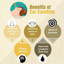 Load image into Gallery viewer, Natural Ear Candling Therapy Set