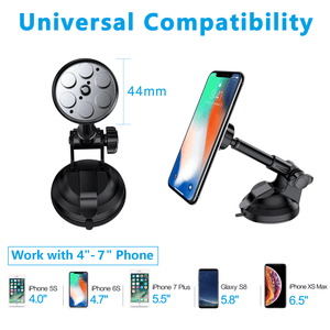 360 Magnetic Expandable Suction Car Phone Holder