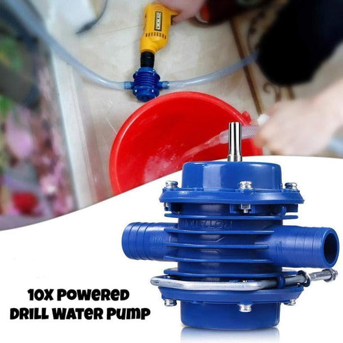 10X Powered Drill Water Pump