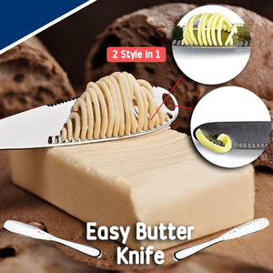 2 Style in 1 Butter Knife