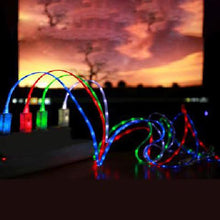 Load image into Gallery viewer, LED Light Micro USB Charger Data Sync Cable