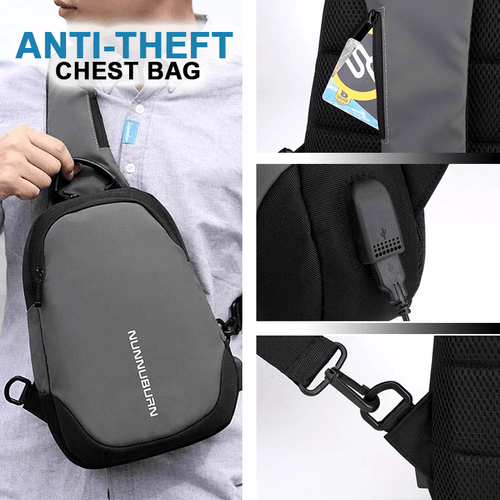 Waterproof Business Chest Bag For Men