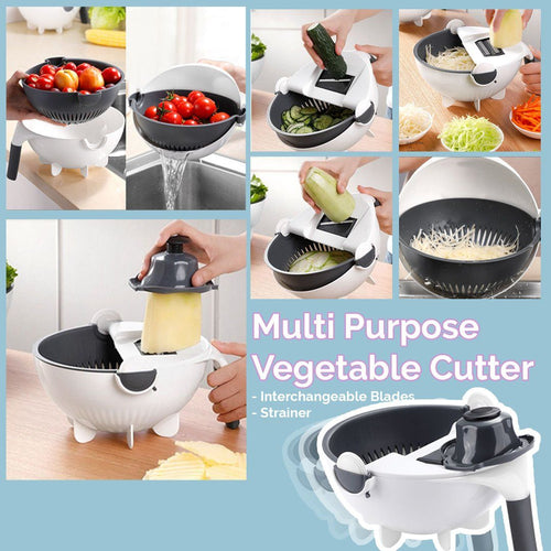Vegetable Cutter Drainer Bowl