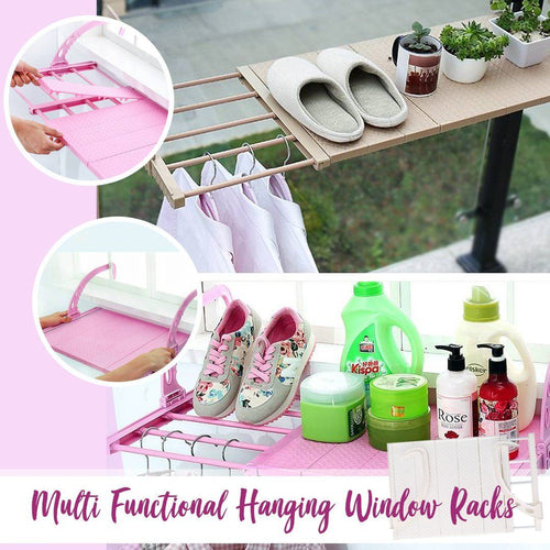 Multi Functional Hanging Window Rack