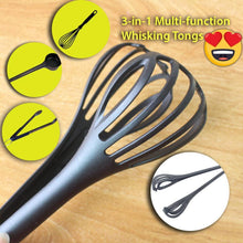 Load image into Gallery viewer, 3-in-1 Multi-function Whisking Tongs