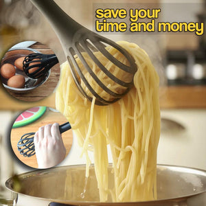 3-in-1 Multi-function Whisking Tongs
