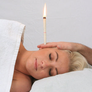 Natural Ear Candling Therapy Set