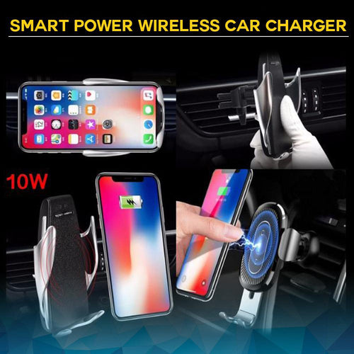 Smart Power Wireless Car Charger