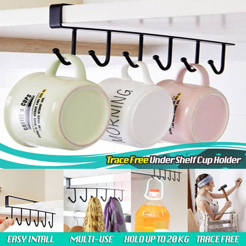 Trace Free Under Shelf Cup Holder