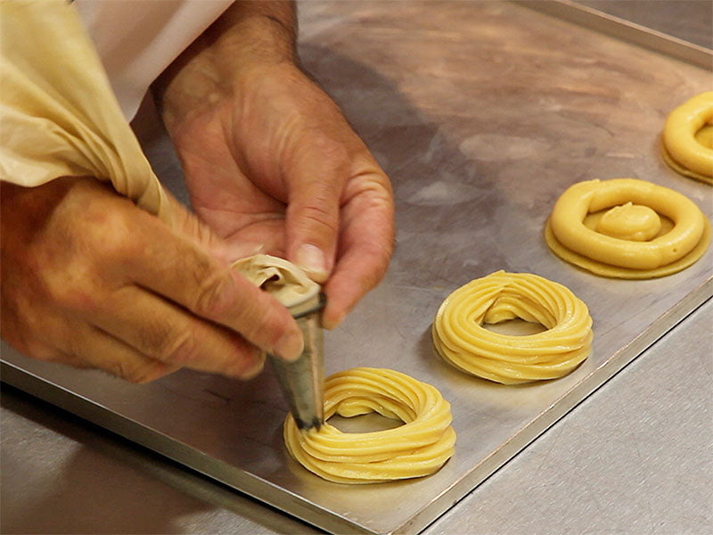 Piping Choux Pastry