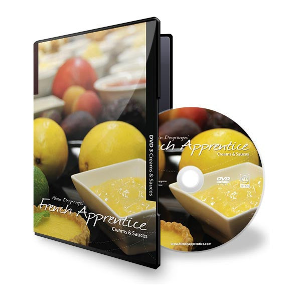DVD3 Creams & Sauces
