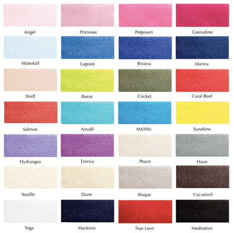 Love Quotes Scarf Color Charts