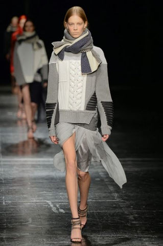 Prabal Gurung Scarf New York Fashion Week Autumn Winter 2014
