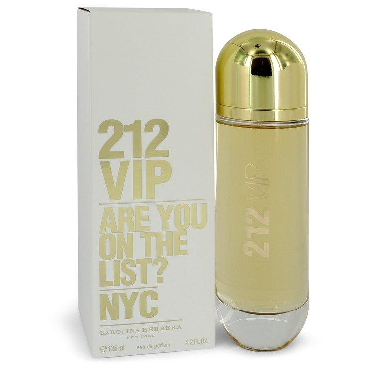 212 Vip by Carolina Herrera Eau De Parfum Spray 4.2 oz for Women - Chaos Fragrances