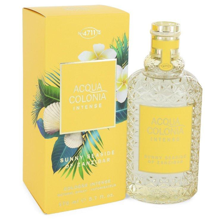 4711 Acqua Colonia Sunny Seaside of Zanzibar by Maurer & Wirtz Eau De Cologne Intense Spray (Unisex) 5.7 oz for Women - Chaos Fragrances