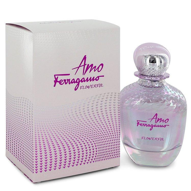Amo Flowerful by Salvatore Ferragamo Eau De Toilette Spray 3.4 oz for Women - Chaos Fragrances