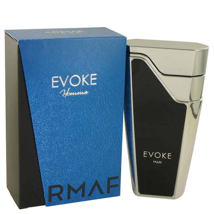 Armaf Evoke Blue by Armaf Eau De Parfum Spray 2.7 oz for Men - Chaos Fragrances