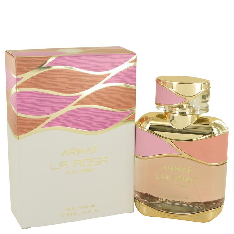 Armaf La Rosa by Armaf Eau De Parfum Spray 3.4 oz for Women - Chaos Fragrances