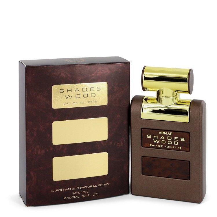 Armaf Shades Wood by Armaf Eau De Toilette Spray 3.4 oz for Men - Chaos Fragrances