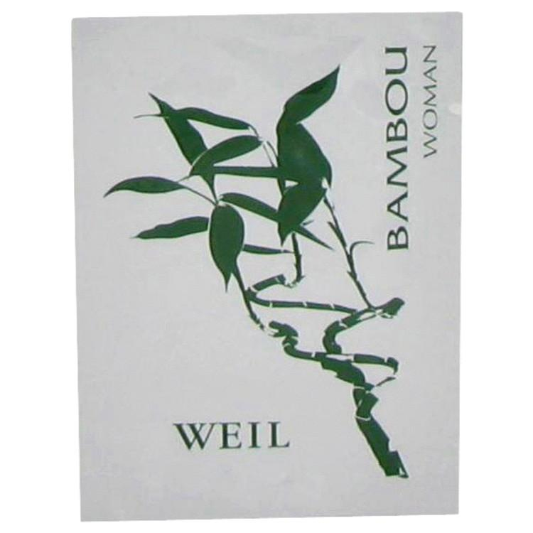 BAMBOU by Weil Perfume Wipes .06 oz for Women - Chaos Fragrances