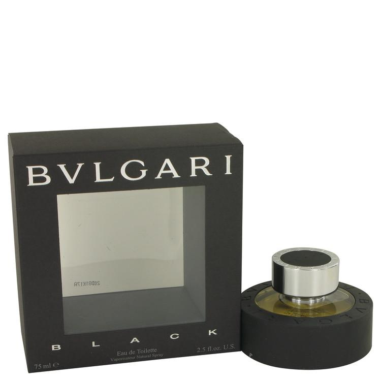 BVLGARI BLACK by Bvlgari Eau De Toilette Spray (Unisex) 2.5 oz for Men - Chaos Fragrances