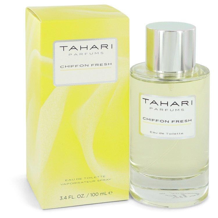 Chiffon Fresh by Tahari Parfums Eau De Toilette Spray 3.4 oz for Women - Chaos Fragrances