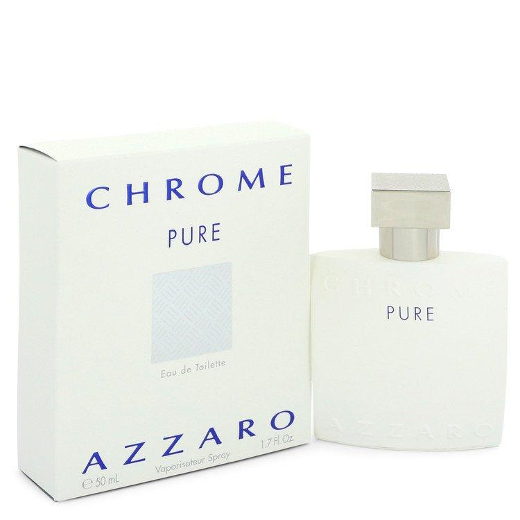 Chrome Pure by Azzaro Eau De Toilette Spray for Men - Chaos Fragrances