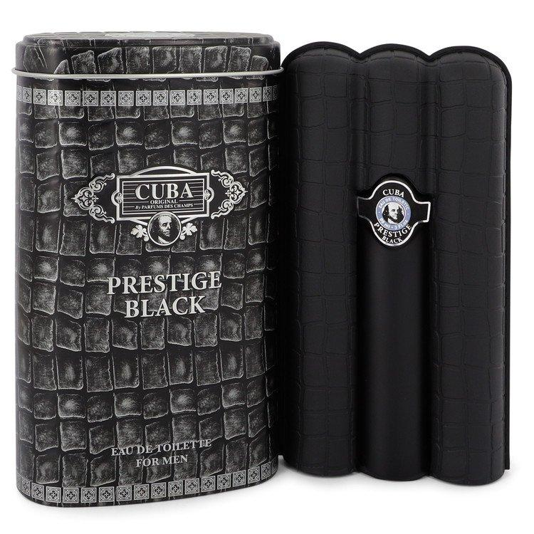 Cuba Prestige Black by Fragluxe Eau De Toilette Spray for Men - Chaos Fragrances