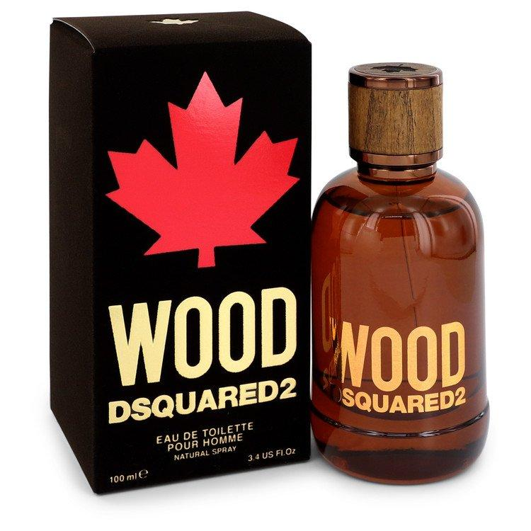 Dsquared2 Wood by Dsquared2 Eau De Toilette Spray 3.4 oz for Men - Chaos Fragrances