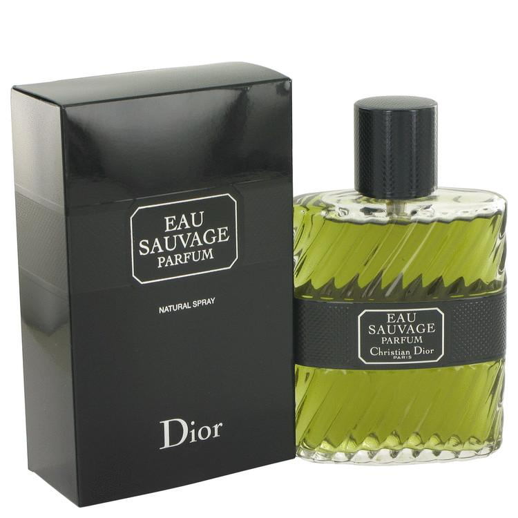 EAU SAUVAGE by Christian Dior Eau De Parfum Spray 3.4 oz for Men - Chaos Fragrances
