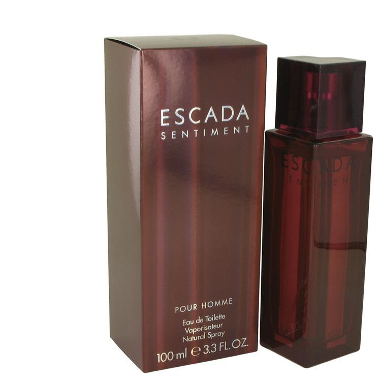 ESCADA SENTIMENT by Escada Eau De Toilette Spray 3.4 oz for Men - Chaos Fragrances