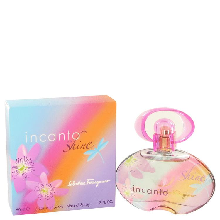 Incanto Shine by Salvatore Ferragamo Eau De Toilette Spray for Women - Chaos Fragrances