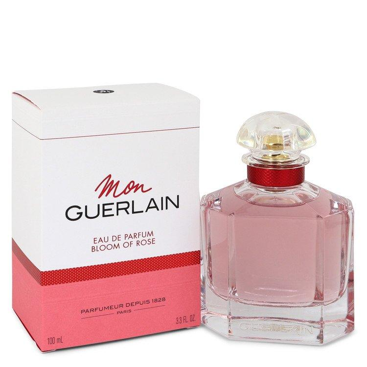 Mon Guerlain Bloom of Rose by Guerlain Eau De Parfum Spray 3.3 oz for Women - Chaos Fragrances