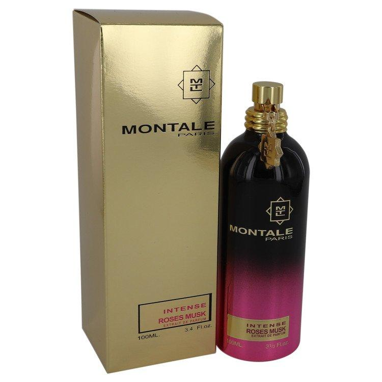 Montale Intense Roses Musk by Montale Extract De Parfum Spray 3.4 oz for Women - Chaos Fragrances