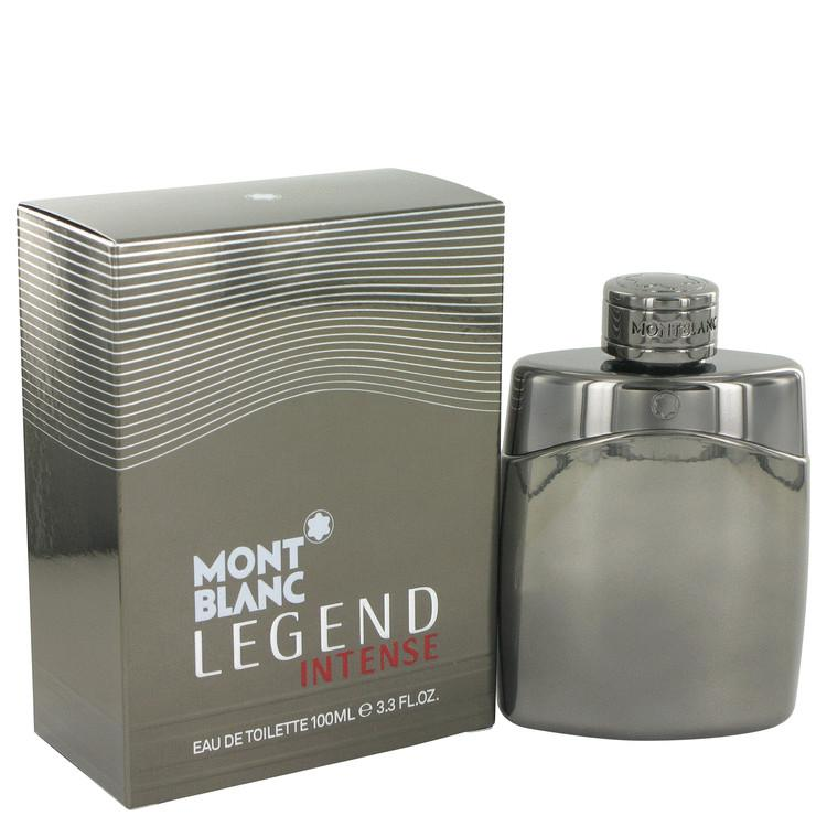 Montblanc Legend Intense by Mont Blanc Eau De Toilette Spray 3.4 oz for Men - Chaos Fragrances