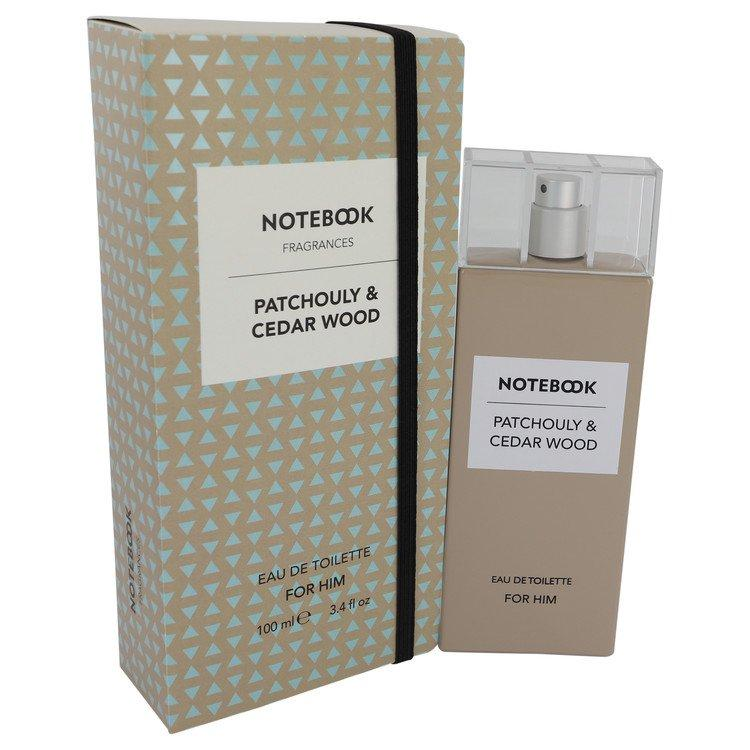 Notebook Patchouly & Cedar Wood by Selectiva SPA Eau De Toilette Spray 3.4 oz for Men - Chaos Fragrances